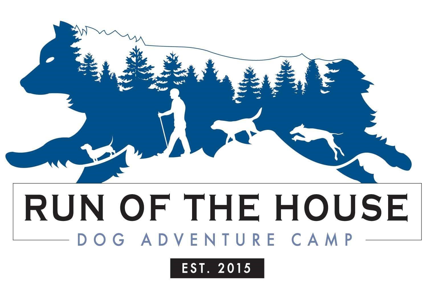 Logo image for Run of the House Dog Adventure Camp